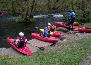 kayak ballade sur le Loing