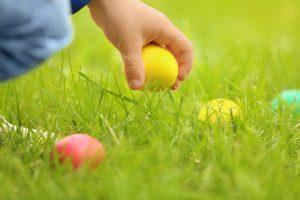 chasse aux oeufs de Pasques