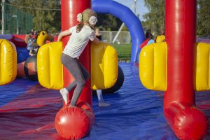 structure gonflable jeu enfants